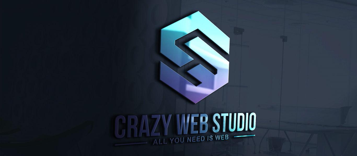 Crazy Web Studio Webdesign Phuket Thailand Logo 1366px