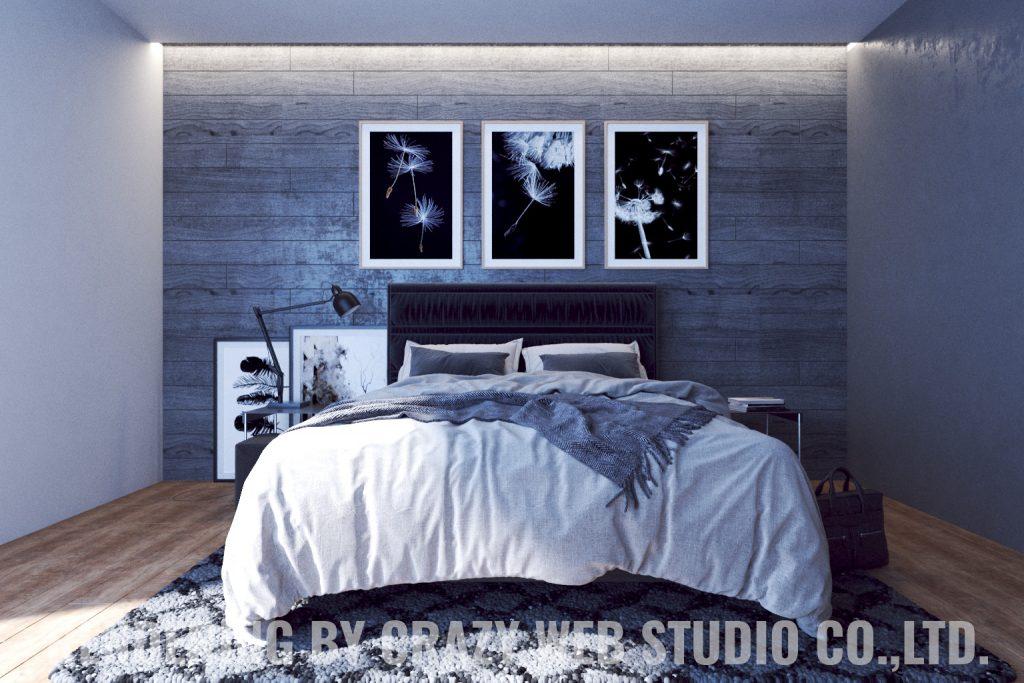 3D Rendering Photorealistic Interior Design Phuket Company Crazy Web Studio2