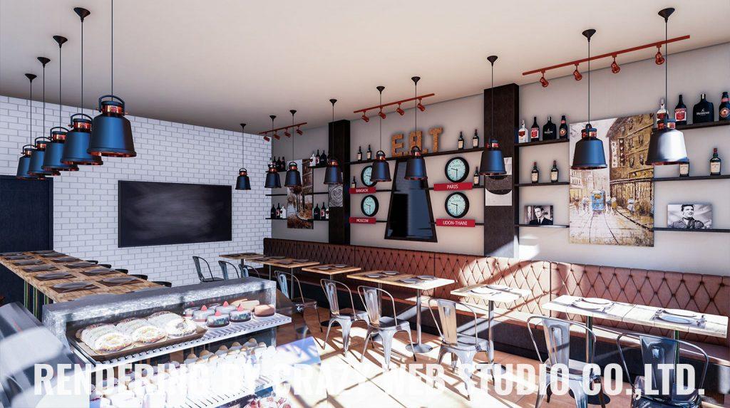 3D Rendering Restaurant Phuket Company Crazy Web Studio1