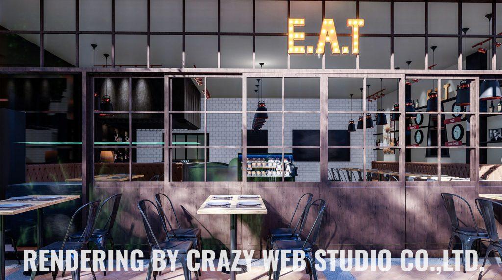 3D Rendering Restaurant Phuket Company Crazy Web Studio4