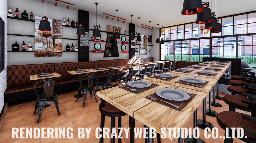 3D Rendering Restaurant Phuket Company Crazy Web Studio5
