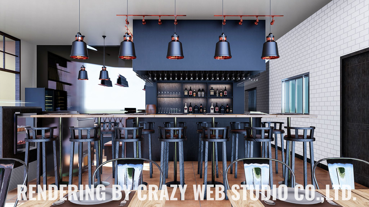 3D Rendering Restaurant Phuket Company Crazy Web Studio6