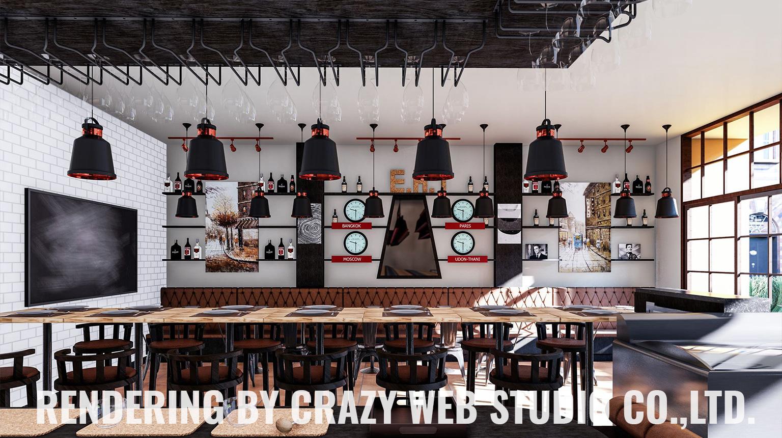 3D Rendering Restaurant Phuket Company Crazy Web Studio8