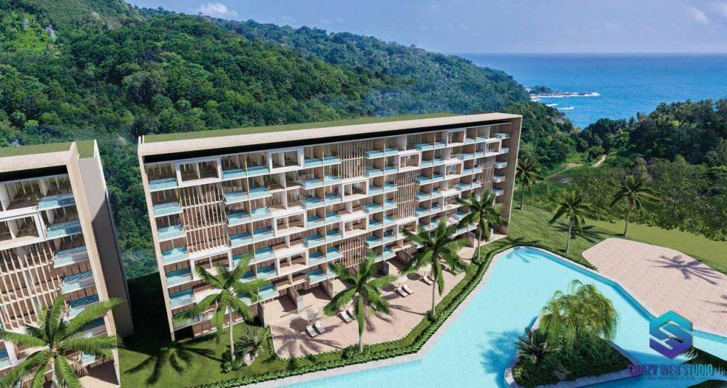 Condominium Project 3d Crazy Web Studio Rendering Paradise Beach 2