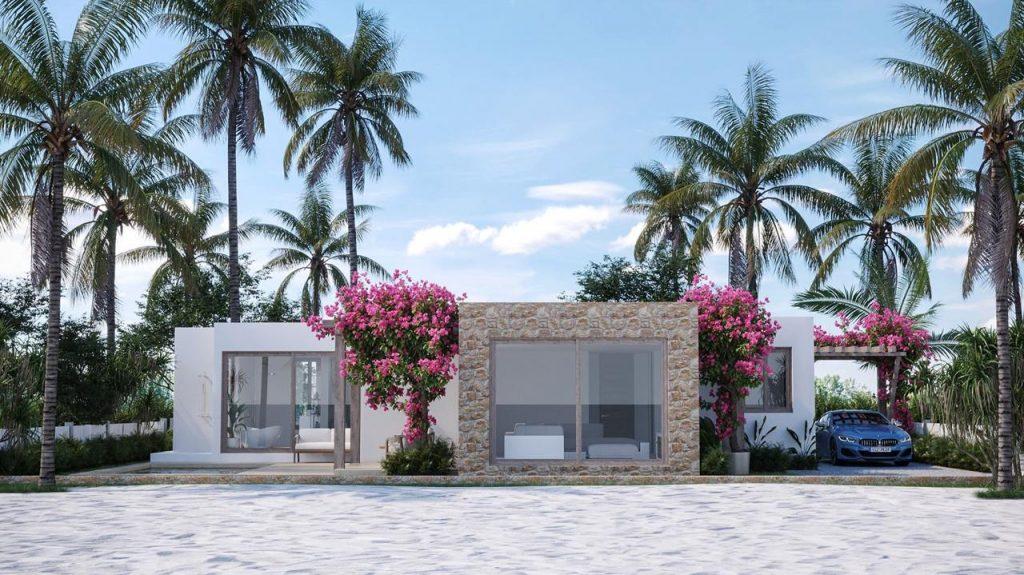 Lotus Zanzibar Villas Rendering By Crazy Web Studio 24