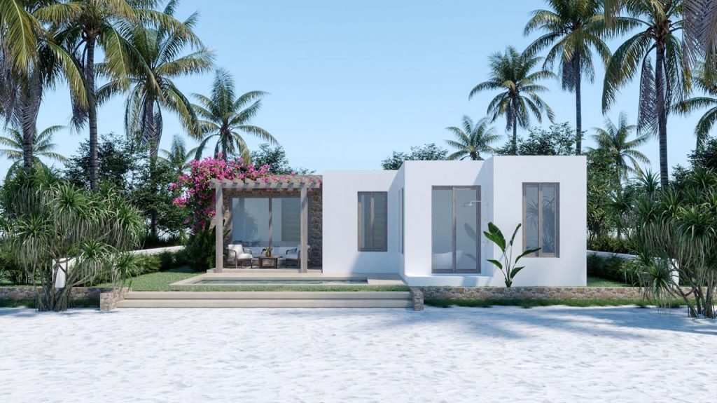 Lotus Zanzibar Villas Rendering By Crazy Web Studio 25