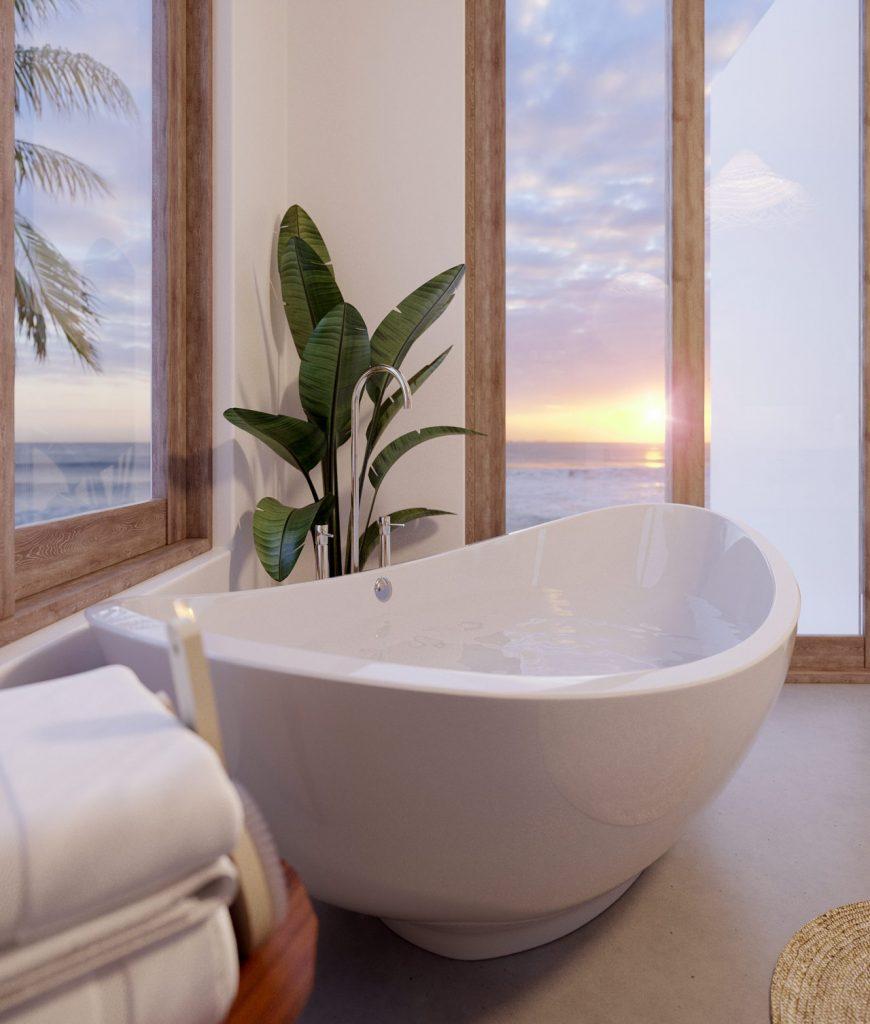 Lotus Zanzibar Villas Rendering By Crazy Web Studio 7