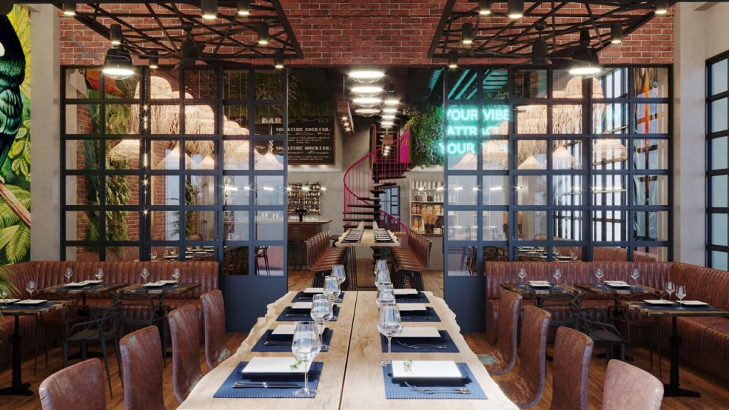 Why Not Restaurant Rendering By Crazy Web Studio 6