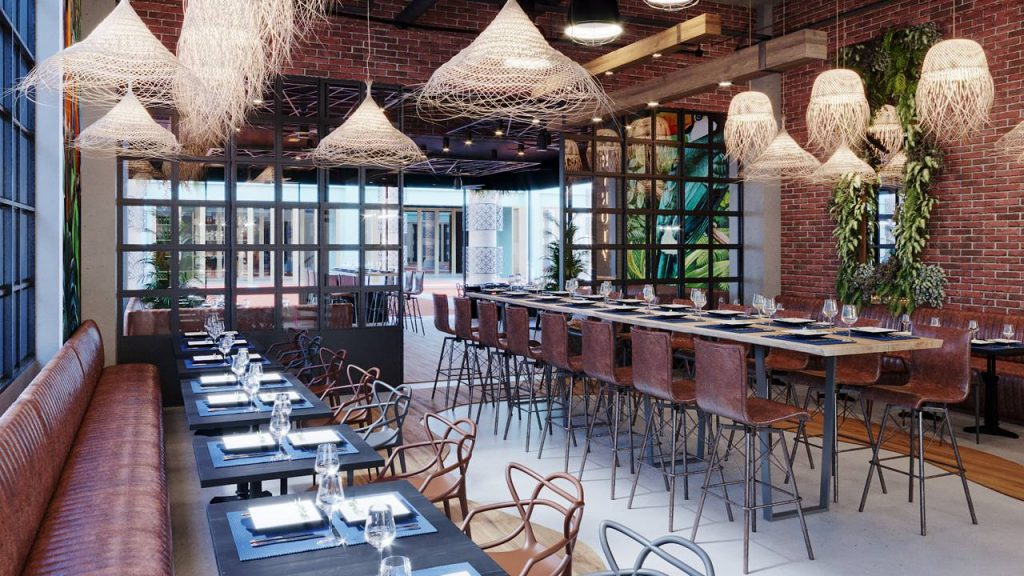 Why Not Restaurant Rendering By Crazy Web Studio 8
